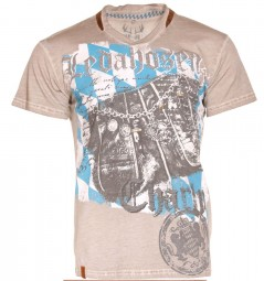 "T-Shirt ""Lederhosen Charly Bavaria"""