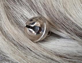Schellen 19mm Silber